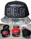 Wholesale Snapback Hats - Chicago Snakeskin Bill