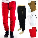 Wholesale Switch Multi-zipper Shirred-Leg Twill Jogger - $18.50/pc - M-SWI-2505