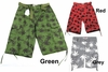 Men's WEED Print Cargo Belted Shorts
