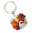 Hello Kitty Bento Box Charm Key Ring