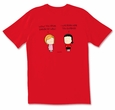 Angry Girl: Speak English T-shirt