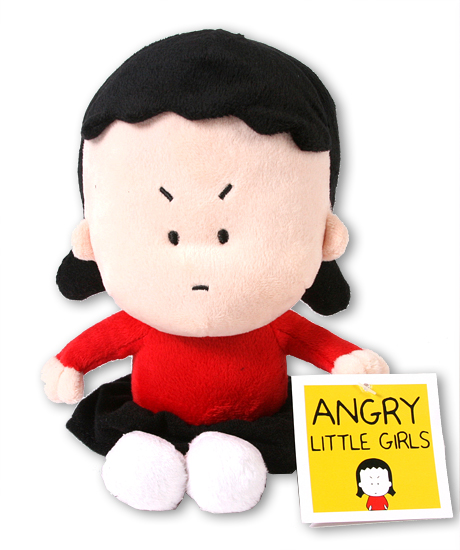 Angry Little Girl Kim doll