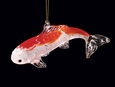 Glass Koi Ornament