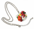 Hello Kitty Bento Box Charm Necklace