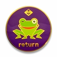 Return Kaeru Pin (Purple)