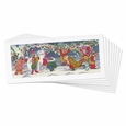 Snow Dogs Note Cards