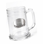 16 oz. Mug with Engraved Pewter Emblem