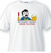 Custom T Shirts for Men - Brew Master