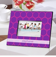 Personalized Frames for the gals - Color Brights Line