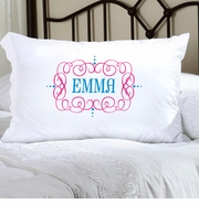 Personalized Friendship Pillow Case Brights