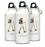 Personalized Water Bottle - Go-Girl Hiking
