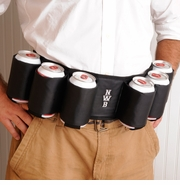 Joe Sixpack Personalized Beer Belt
