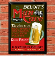 Man Cave Pub and Bar Signs