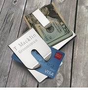 Personalized Money Clip & Credit Holder