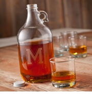 Monogram Whiskey Growler