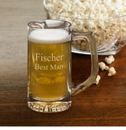 Personalized 12 oz. Sports Beer Mug