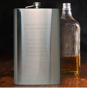 Personalized 64 oz. Big Sipper Flask