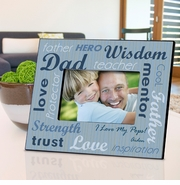 Personalized Picture Frame - All-Star Dad