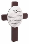 Personalized Anniversary Crosses