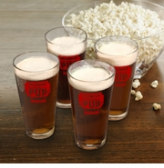Personalized Pint Glass Set - Bar and Pub