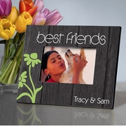 Personalized Picture Frame - BFF Dancing Daisies