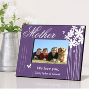 Personalized Picture Frame - Bloomin' Butterfly