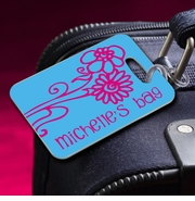 Personalized Luggage Tags - Bon Voyage