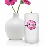 Personalized Candle for Mom - Bouncy Bouquet