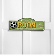 Personalized Boys and Sports Themed Room Signs