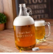 Personalized Brewmasters Beer Growler