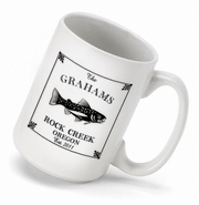 Personalized Coffee Mug - Cabin Series