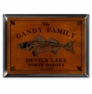 Personalized Traditional Signs - Cabin Series