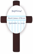 Personalized Children's Baptismal Crosses