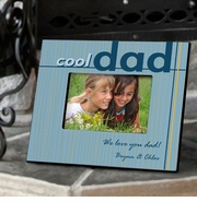 Personalized Picture Frame - Cool Dad