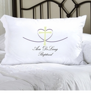 Personalized Pillow Case - Cross My Heart