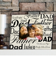 Personalized Picture Frame - Dad-Father