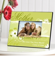 Personalized Picture Frame - Delicate Daisy