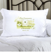 Personalized Pillow Case - Delicate Daisy