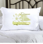 Personalized Pillow Case - Divine Daisy