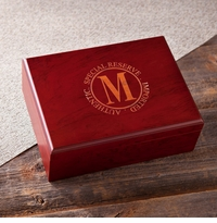 Personalized Engraved Humidor