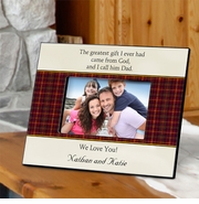 Personalized Picture Frames - Father's Poem