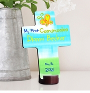Personalized Cross - First Communion Gift