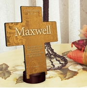 Personalized Cross - Gardens of Grace
