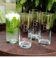 Personalized Glass Set of 4 - Portico Coolers
