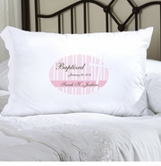 Personalized Pillow Case  - God Bless