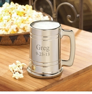 Personalized Beer Mug - Gunmetal