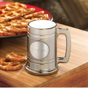 Personalized Gunmetal Beer Mug