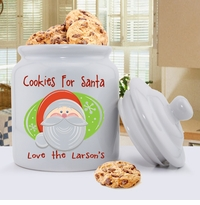 Holiday Cookie Jars - Personalized