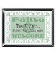 Personalized Family Sign - Irish Linen