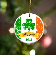 Personalized Ornaments - Irish